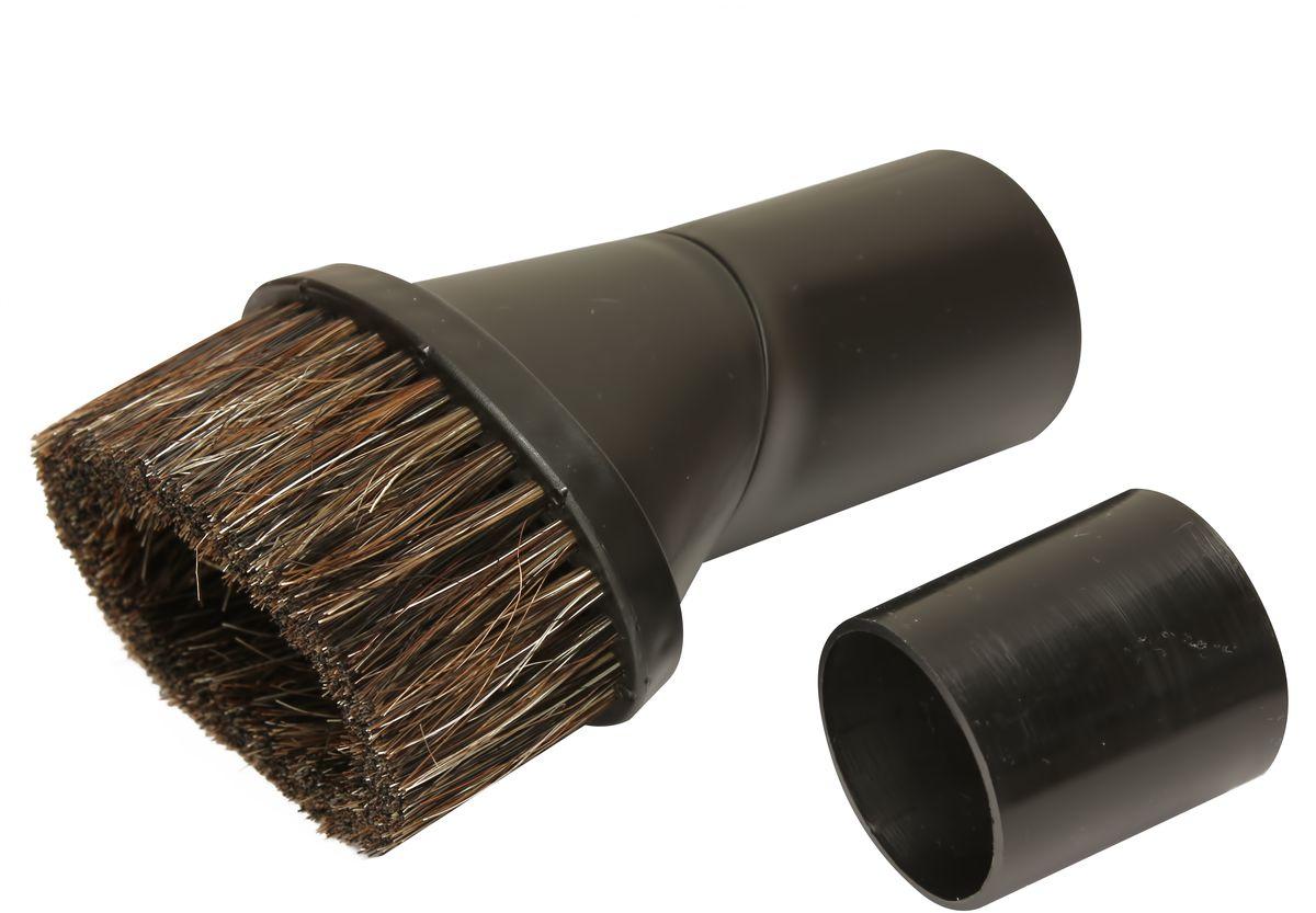 Ozone UN-10 насадка универсальнаяUN-10Универсальная щетка Ozone UN-10 подходит к любому пылесосу. Щетка выполнена из конского волоса, что поможет вам тщательно очистить мебель в квартире, будь то пыли или шерсть домашних животных.Подходит для всех типов пылесосов с телескопическими трубками диаметром 32 или 35 мм. Переходник в комплекте есть.