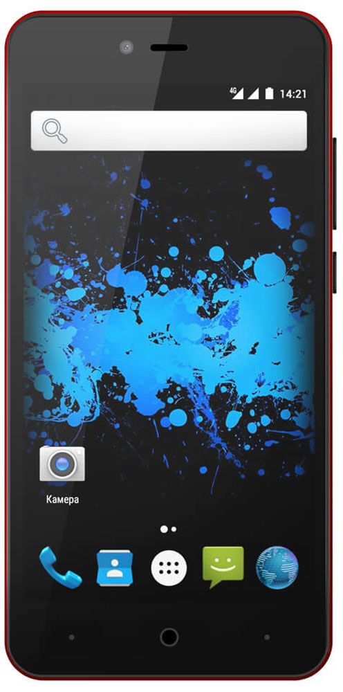 Highscreen Easy L, Red23540Простой и доступный смартфон Highscreen Easy L с хорошей батареей, отличным экраном, да еще и с поддержкой 4G/LTE. Что еще нужно для полного счастья?Четыре правильных цвета из которых ты точно выберешь свой. Матовый шероховатый корпус имеет прекрасную эргономику и сбалансированные размеры.Яркий и контрастный HD-экран, выполненный по технологии OnCell, обеспечивает естественную цветопередачу. Повышенная чувствительность дисплея поможет в динамичных играх и при наборе текста, когда требуется моментальный отклик и точное попадание.Highscreen Easy L работает на базе чистого Android Marshmallow, Highscreen преднамеренно не ставят дополнительные приложения и игры, чтобы не занимать лишнюю память и дать тебе свободу выбора.Ощути всю прелесть точной навигации, ты сможешь точно определять свое местоположение и быстро прокладывать маршруты из точки A в точку B.Телефон сертифицирован EAC и имеет русифицированный интерфейс меню и Руководство пользователя.