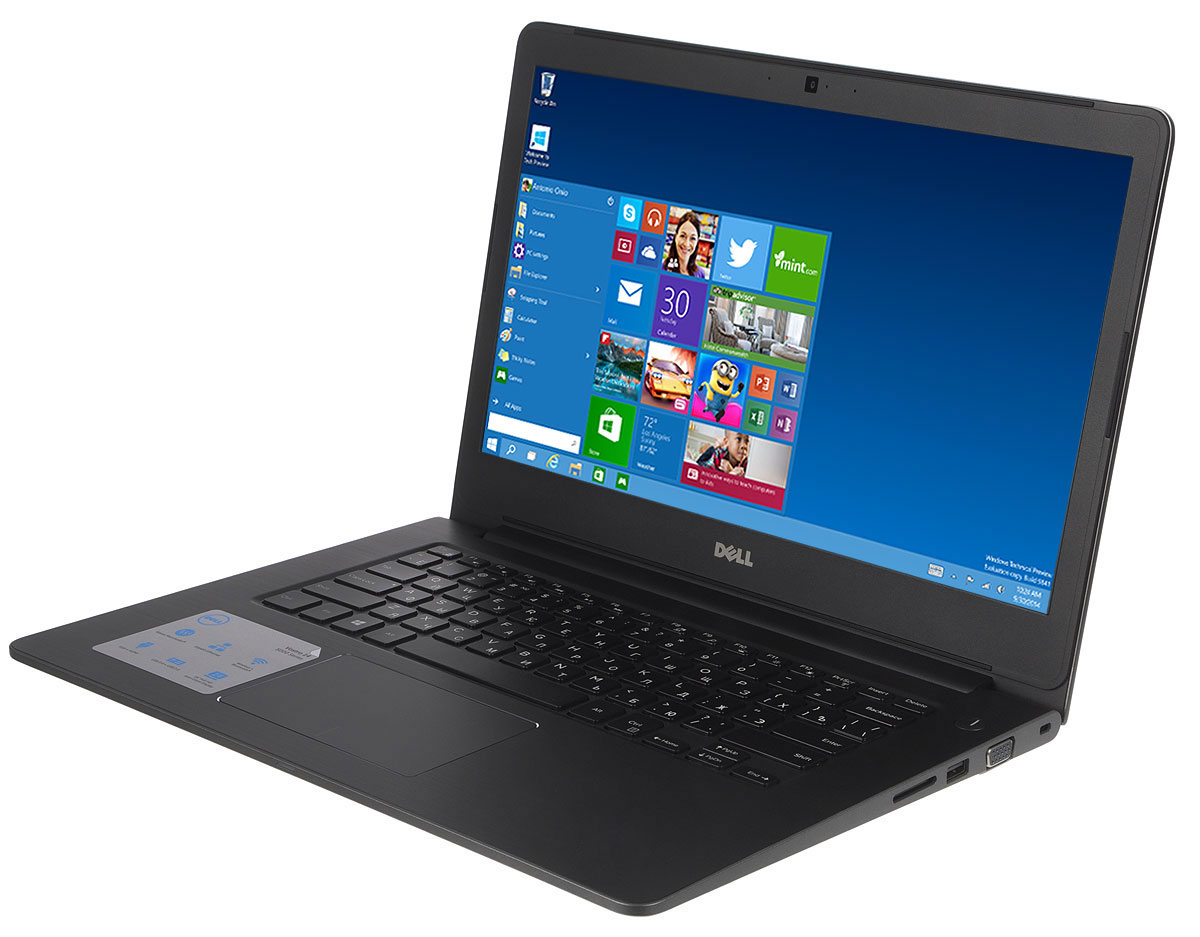 Dell Vostro 5468-9937, Grey5468-993714-дюймовый ноутбук Dell Vostro 5468 с процессором Intel Core i5 позволит вам в любое время сразу приступить к работе.Этот супертонкий ноутбук не только невероятно прочный, но и обладает стильным внешним видом. Красота Vostro 5468 - в деталях. Если вас завалило электронной почтой, высококачественная полноразмерная резиновая клавиатура и мультисенсорная панель с распознаванием жестов помогут вам легко и быстро ответить на любое письмо. Тонкий и легкий. Толщина устройства - всего 18,3 мм, а вес составляет всего лишь 1,53 кг. Компактный и изящный ноутбук Vostro 5468 можно легко положить в сумку и взять с собой куда угодно. Стереосистема формата 2.1 с поддержкой Waves MaxxAudio обеспечивает высокую четкость звука при воспроизведении музыки, просмотре видео и участии в конференциях. Vostro 5468 поддерживает аудиорешения Waves MaxxAudio, которые повышают качество звучания двух встроенных динамиков и сабвуфера.Легкость общения. Общайтесь с коллегами, родственниками и друзьями с помощью веб-камеры высокой четкости (720p) и встроенных микрофонов.Простота подключения. Подключайте устройства через разъем HDMI и три порта USB 3.0. Функция PowerShare позволяет заряжать внешние устройства через порт USB, даже когда ноутбук выключен.Быстрая передача данных. Встроенный порт Ethernet и устройство считывания карт памяти SD позволяют быстро и легко переносить рабочие файлы между различными устройствами.Точные характеристики зависят от модификации.Ноутбук сертифицирован EAC и имеет русифицированную клавиатуру и Руководство пользователя.