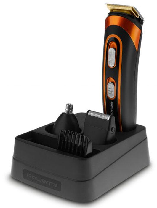 Rowenta TN9100F0 мультитриммерTN9100F0Мультитриммер 5 в 1 Rowenta TN9100F0 - это универсальный набор для профессионального и детального ухода за волосами. Качественные лезвия, водонепроницаемый корпус и комплект насадок позволят поддерживать свой стиль, не выходя из дома.Титановое покрытие лезвий в 3 раза прочнее стали и увеличивает их срок службы и остроту, обеспечивая высочайшее качество стрижкиТехнология Wet&Dry обеспечивает непревзойденное удобство использования даже под душемМощный мотор обеспечивает быструю и качественную стрижку без лишних усилий и всего за несколько секундАксессуары, входящие в комплект, позволят поддерживать идеальную стрижку, где бы вы ни находилисьРегулируйте высоту насадки и получите результат, которого ждалиУдалите без труда нежелательные волосы в труднодоступных местахЕмкости батареи хватит на несколько полноценных стрижек без подзарядки