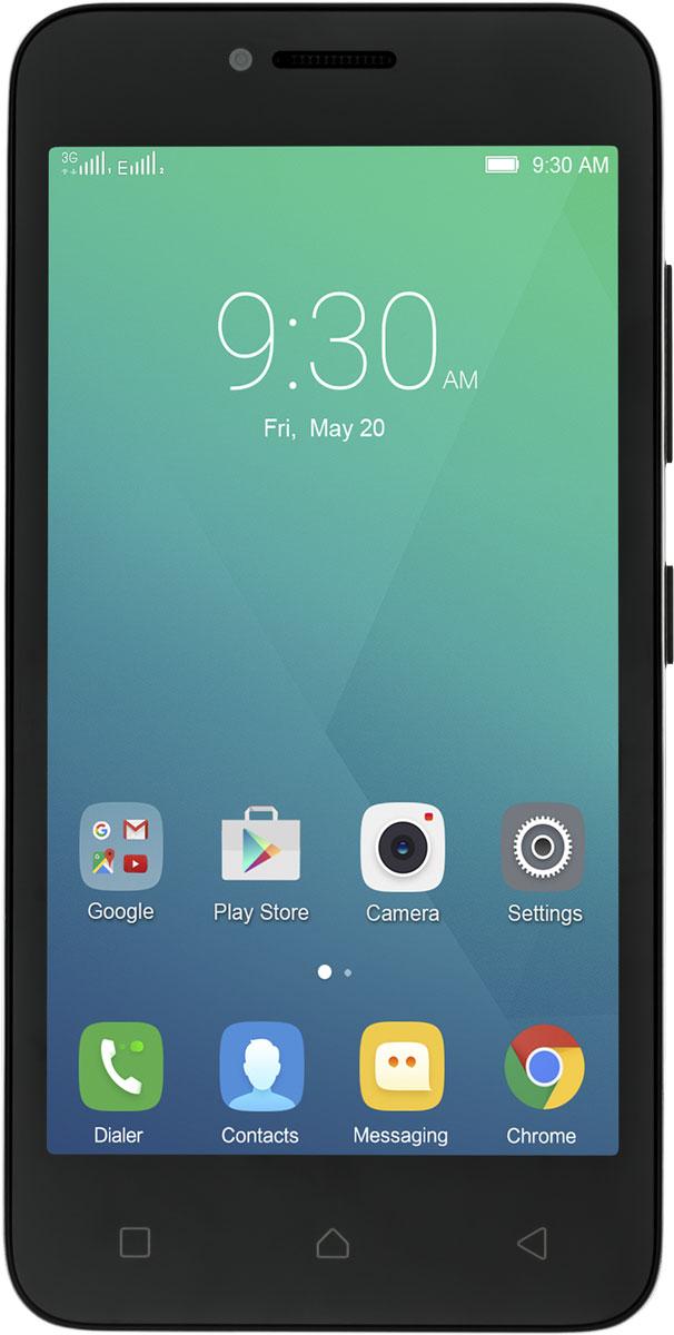 Lenovo A Plus (A1010a20) 3G, BlackPA4S0073RU4,5-дюймовый смартфон Lenovo A Plus оснащен основными функциональными возможностями, включая фотосъемку в высоком разрешении и лучшие функции Android по весьма доступной цене. Компактный, но мощный, этот смартфон отличается производительным четырехъядерный процессором, большим объемом оперативной и внутренней памяти. Этот 3G-смартфон может проработать на одном заряде аккумулятора больше суток и поддерживает использование двух SIM-карт.Достаточно компактный, чтобы поместиться в твоем кармане, Lenovo A Plus весит меньше обычного сэндвича - около 146 г. Этот 4,5-дюймовый смартфон удобно лежит в ладони, им легко управлять одной рукой - он отлично подходит для использования в поездках. Играй в новейшие игры, работай с несколькими приложениями, путешествуй по просторам Интернета. Производительность четырехъядерного процессора и память Lenovo A Plus позволят справиться с любой задачей. До 12 часов в режиме разговора и до 16 дней в режиме ожидания - Lenovo A Plus работает без подзарядки сутками. А если в дороге аккумулятор все-таки сядет, ты всегда можешь заменить его на запасной с полным зарядом.Производительная, надежная и безопасная ОС Android 5.1 Lollipop прекрасно совместима с твоими любимыми приложениями Google - и другими устройствами под управлением Android.Lenovo A Plus поможет запечатлеть лучшие моменты твоей жизни, включая веселые селфи. Он отвечает твоим главным потребностям в съемке фото и видео - смартфон оснащен камерой 5 Мпикс на задней панели и 2 Мпикс на фронтальной.Телефон сертифицирован EAC и имеет русифицированный интерфейс меню и Руководство пользователя.