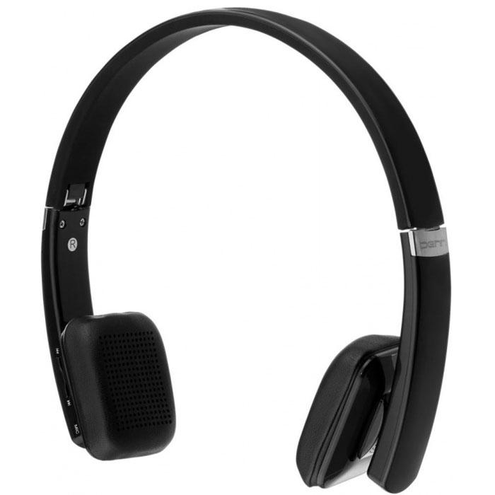 Denn DHB201, Black наушникиDHB201Denn DHB201 - Bluetooth-гарнитура со складывающимся оголовьем и плавающими амбушюрами. Такая компоновка обеспечивает удобство использования. Благодаря мощным излучателям, модель может воспроизводить без помех звуки любой частоты и громкости. Это позволяет сделать голос собеседника максимально чистым и отчетливым.С помощью кнопок, расположенных на корпусе динамика, пользователь может отвечать на звонок, повторять набор последнего номера, а также включать и выключать микрофон. Полного заряда встроенного аккумулятора хватает на 9 часов непрерывного разговора, либо на 200 часов (8 дней) работы в режиме ожидания. Также имеется возможность подключения по кабелю (в комплекте).