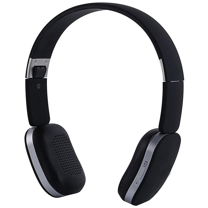Denn DHB221, Black наушникиDHB221Denn DHB221 - Bluetooth-гарнитура со складным оголовьем. Она снабжена встроенным микрофоном с защитой от шумов, который обеспечивает четкую передачу речи.Динамики наушников оснащены излучателями большого диаметра и мощными магнитами. Они могут воспроизводить без малейших помех звуки любой частоты.Для приема входящих звонков, изменения уровня громкости или переключения треков не обязательно доставать телефон из кармана – достаточно прикоснуться к сенсорной панели на одной из чашек наушников.Складная конструкция позволяет быстро подобрать оптимальное положение устройства, а также значительно облегчает его транспортировку.