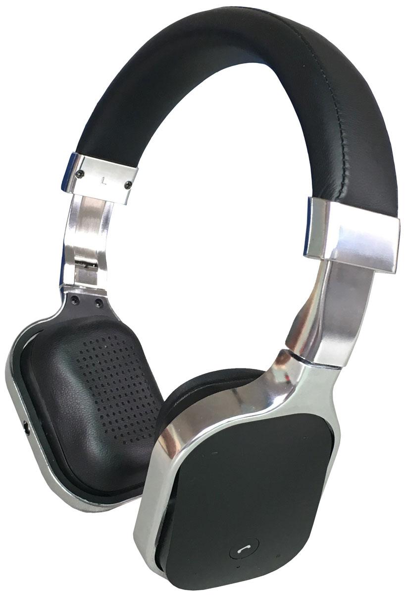 Denn DHB341, Silver Bluetooth-гарнитураDHB341Denn DHB341 - Bluetooth-гарнитура с алюминиевым корпусом, декоративными пластиковыми вставками и кожаным оголовьем.Динамики наушников оснащены излучателями большого диаметра и мощными магнитами. Они могут воспроизводить без малейших помех звуки любой частоты.Для приема входящих звонков, изменения уровня громкости или переключения треков не обязательно доставать телефон из кармана - достаточно прикоснуться к сенсорной панели на одной из чашек наушников.Складная конструкция позволяет быстро подобрать оптимальное положение устройства, а также значительно облегчает его транспортировку.