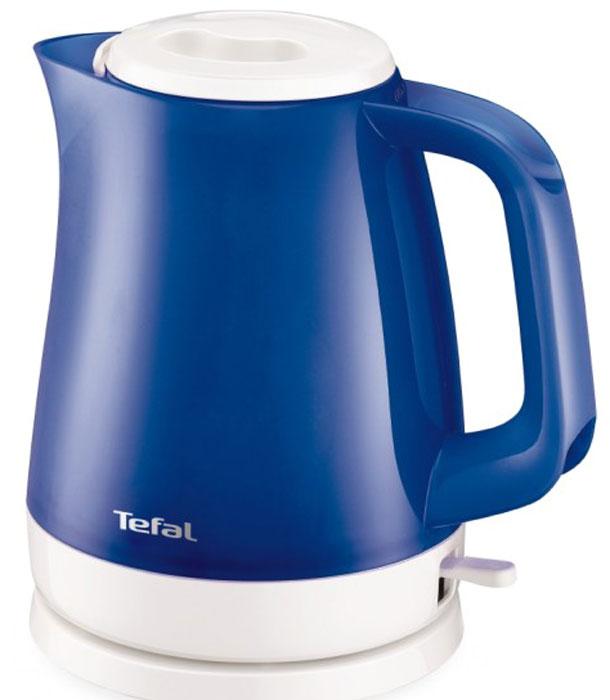 Tefal KO151430 чайникKO151430Электрический чайник Tefal KO151430 прост в управлении и долговечен в использовании. Изготовлен из высококачественных материалов. Прозрачные стенки чайника позволяют определить уровень воды. Фильтр препятствует попаданию накипи в воду. Мощность 2400 Вт позволит вскипятит 1,5 литра воды в считанные минуты. Беспроводное соединение позволяет вращать чайник на подставке на 360°. Съемная крышка.