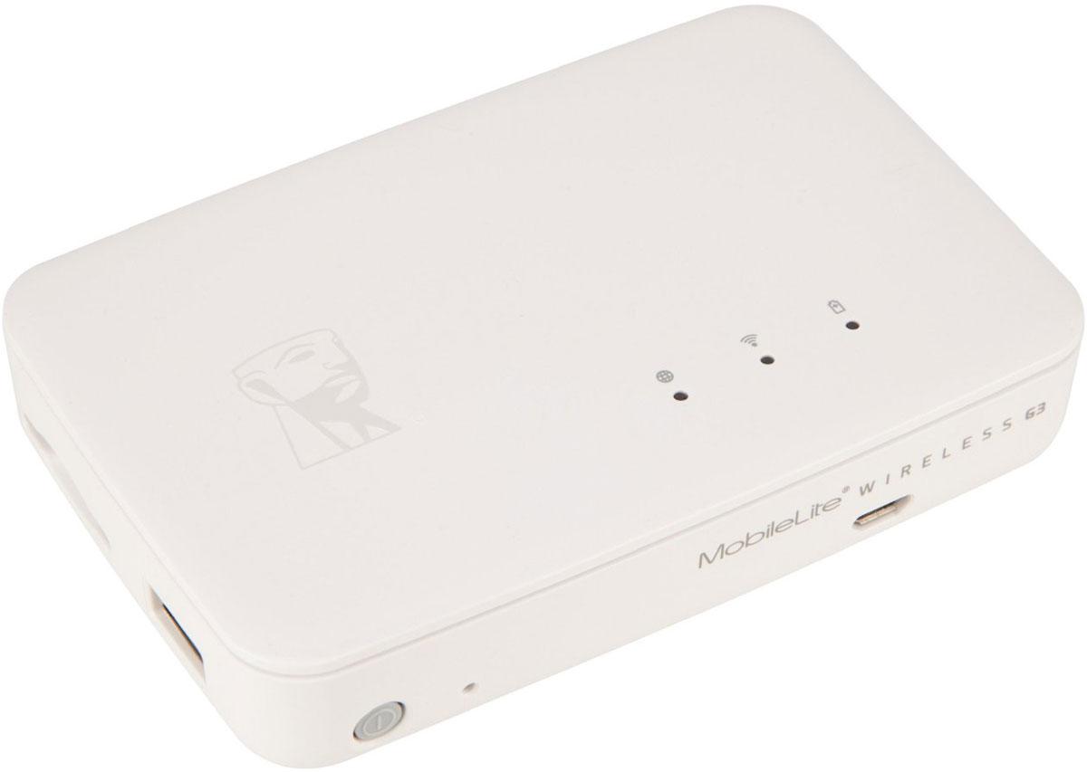 Kingston MobileLite Wireless G3 картридер с аккумулятором - Картридеры
