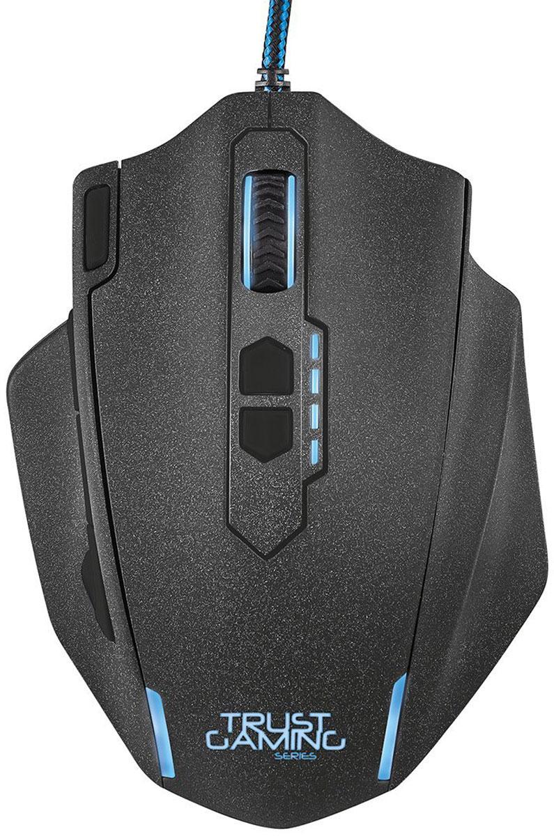 Trust GXT 155, Black игровая мышь20411Многофункциональная игровая мышь премиум-класса Trust GXT 155 с изменяемым весом и внутренней памятью для профилей настройки. Мышь имеет мощную аппаратную начинку и эргономичный корпус. Благодаря 5 дополнительным программируемым кнопкам под большой палец идеально подходит для игр в жанре MOBA. Память устройства позволяет хранить до пяти игровых профилей. 8 металлических грузиков (весом 2 г каждый) помогут подобрать оптимальный вес мыши. В комплект входит расширенная версия ПО для программирования кнопок и создания макросов.Частота опроса: 125/250/500/1000 Гц