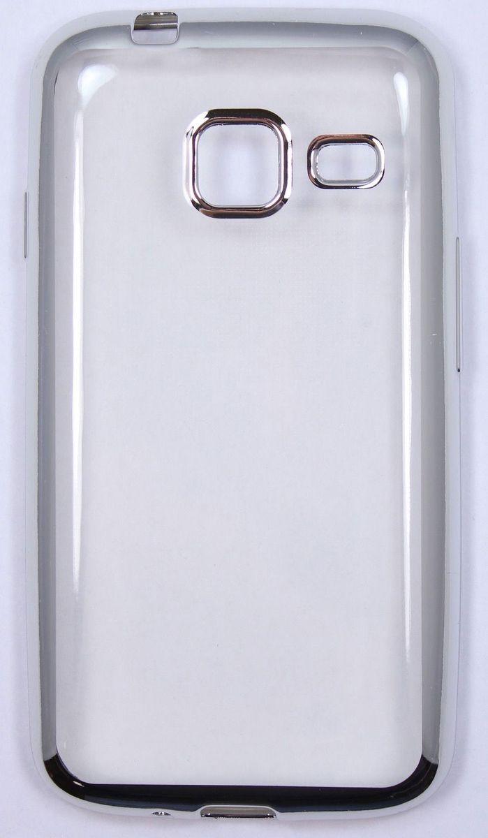 Red Line iBox Blaze чехол для Samsung Galaxy J1 mini (2016), SilverУТ000009699Практичный и тонкий силиконовый чехол Red Line iBox Blaze для Samsung Galaxy J1 mini (2016) с эффектом металлических граней защищает телефон от царапин, ударов и других повреждений. Чехол изготовлен из высококачественного материала, плотно облегает смартфон и имеет все необходимые технологические отверстия, соответствующие модели телефона.Силиконовый чехолRed Line iBox Blaze долгое время сохраняет свою первоначальную форму и не растягивается на смартфоне.