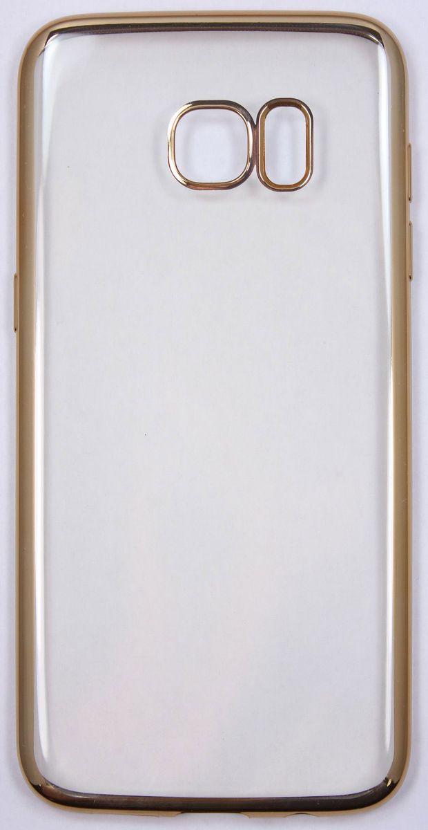 Red Line iBox Blaze чехол для Samsung Galaxy S7 Edge, GoldУТ000009622Практичный и тонкий силиконовый чехол Red Line iBox Blaze для Samsung Galaxy S7 Edge с эффектом металлических граней защищает телефон от царапин, ударов и других повреждений. Чехол изготовлен из высококачественного материала, плотно облегает смартфон и имеет все необходимые технологические отверстия, соответствующие модели телефона.Силиконовый чехолRed Line iBox Blaze долгое время сохраняет свою первоначальную форму и не растягивается на смартфоне.