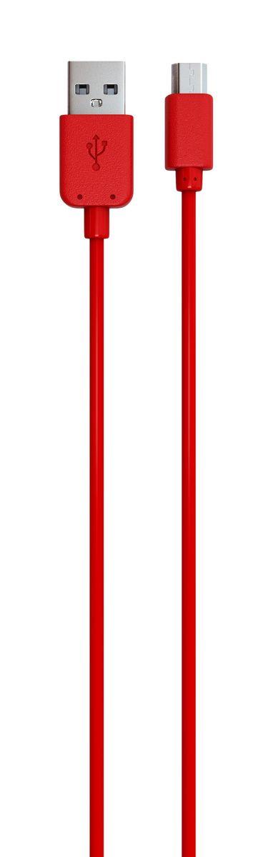 Red Line кабель USB-microUSB, Red (1 м)УТ000009493Дата-кабель Red Line позволяет подключить планшет, смартфон, электронную читалку и прочие мобильные устройства с разъемом microUSB к порту USB на компьютере для синхронизации и зарядки. Кроме того, его можно подключить к адаптеру питания USB, чтобы зарядить устройство от розетки.