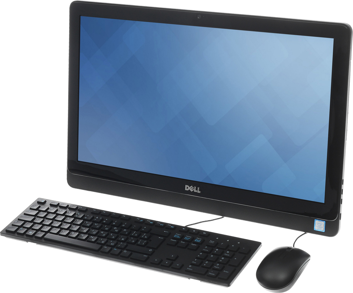 Dell Inspiron 3264-9890, Black моноблок