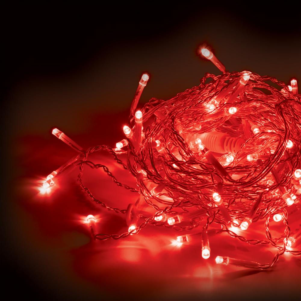 Гирлянда-конструктор электрическая Vegas  Бахрома , 64 лампы, длина 1 м, свет: красный. 55015 - Гирлянды и светильники