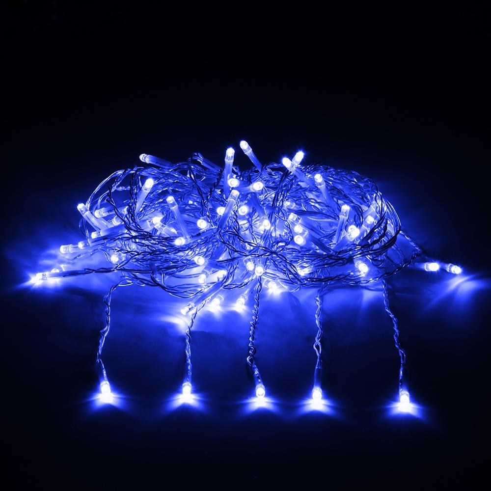 Гирлянда электрическая Vegas Занавес, с контроллером, 156 ламп, длина 1,5 м, свет: синий. 55081 vegas душевая дверь vegas ep 70 профиль матовый хром стекло зебра