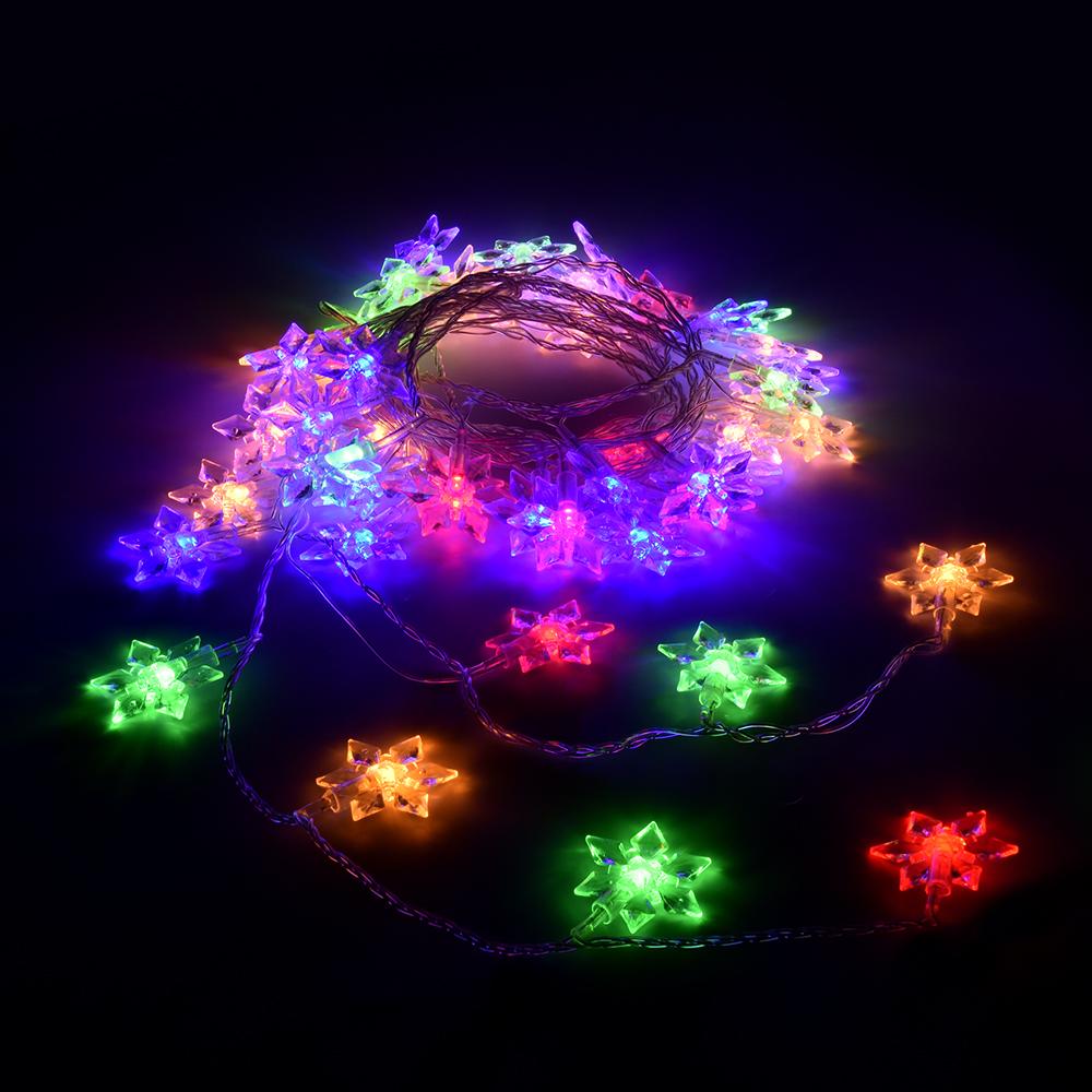 Гирлянда электрическая Vegas Цветочки, с контроллером, 80 ламп, длина 10 м, свет: мультиколор. 5508455084Светодиодные гирлянды для домашнего пользования VEGAS Электрогирлянда Цветочки 80 разноцветных LED ламп, контроллер 8 режимов, прозрачный провод, 10 м, 220 v /20
