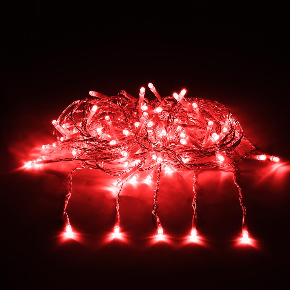 Гирлянда-конструктор электрическая Vegas Занавес, 192 лампы, 6 нитей, свет: красный, 1 х 4 м55027Новогодняя электрическая гирлянда Vegas Занавес предназначена для внешнего и внутреннего декорирования (дома, рестораны, загородные дома, мероприятия). Может применяться как в зимний период, так и летом. Электрогирлянда Занавес имеет прозрачный провод и состоит из 6 нитей и 192 LED лампы. Общая длина гирлянды: 1 м.Длина одной нити: 4 м.Все гирлянды конструкторы серии Vegas соединяются между собой, как однотипные гирлянды, например, нить, так и различной конфигурации: нить с бахромой, занавесом, звездой и т.п. Есть возможность последовательного соединения до 1 500 LED. Трансформатор НЕ входит в комплект! Приобретается отдельно. Без трансформатора Vegas гирлянду невозможно подключить к электричеству. Электрогирлянды и аксессуары марки Vegas не подключаются к электрогирляндам других производителей. Преимущества гирлянд ТМ Vegas: - абсолютная безопасность для людей и животных (питание 24 v); - большой срок службы (до 25 000 часов); - универсальность (гирлянды имеют прозрачный провод, который впишется в любую цветовую интерьерную гамму, и соединяются между собой при помощи единых влагозащитных коннекторов); - широкий температурный диапазон (возможность использования дома и на улице) температурный режим (от -30°С до +50°С) НО! Монтаж до -15°С;- возможность индивидуального, неповторимого дизайна (широкий выбор форм и размеров, возможность подключения до 1 500 LED в одну линию, вся цепь работает от одной розетки без заметной потери яркости); - для индивидуальной сборки системы вам помогут дополнительные аксессуары: Удлинитель - позволяет удлинить системуУдлинитель с розетками - позволяет удлинить систему и присоединять до пяти ответвлений разной конфигурацииПровод с 20 ответвлениями - позволяет удлинять систему и создавать световой занавес любой длиныРазветвитель - позволяет удлинять систему и подключать одновременно до пяти гирлянд из одной точки (с помощью разветвителя украшаю