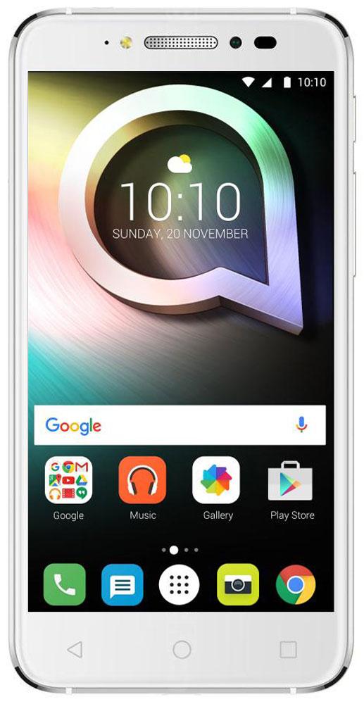 Alcatel OT-5080X Shine Lite, White5080X-2DALRU7Alcatel OT-5080X Shine Lite создан для тех, кто стремится жить ярко и ценит дизайн премиум-класса. Позволь себе сиять и в жизни и на фото благодаря камерам, обеспечивающим высококачественный уровень съёмки.Корпус смартфона выполнен из прочного стекла Dragontrail с закругленными краями, а также 2.5D эффектом. Благодаря олеофобному покрытию на корпусе не остаются отпечатки от рук. Благодаря уникальному покрытию смартфон выделяется среди остальных.Четырехядерный процессор MediaTek МТ6737 с частотой 1,3 ГГц отлично справится с повседневными задачами. Встроенной памяти 16 Гб хватит для сохранения большого количества информации, также можно расширить при помощи карты microSD до 128 Гб.Основная камера имеет 13-мегапиксельное разрешение и оснащена автофокусом, двойной вспышкой. Фронтальная камера с разрешением 5-мегапикселей отлично подходит для селфи и также имеет вспышку.Плавность линий и утонченная элегантность корпуса, притягательный блеск стекла и металла. В Alcatel OT-5080X Shine Lite каждая деталь выполнена с мастерством и вниманием. Смартфон создан в трех цветовых вариантах, передающих дух современности и отражающих возможности новых технологий.Настройте функцию сканера отпечатков пальцев и получите быстрый доступ к 5 любимым приложениям с экрана блокировки. Чтобы повысить уровень защиты своих данных, храните личные фото, видео, музыку и документы в сейфе, доступ к которому возможен по отпечатку пальца.Наслаждайтесь безупречным изображением фото и видео на 5-дюймовом HD экране с олеофобным покрытием. Отличная читаемость текста даже при ярком солнечном свете.Телефон сертифицирован EAC и имеет русифицированный интерфейс меню и Руководство пользователя.