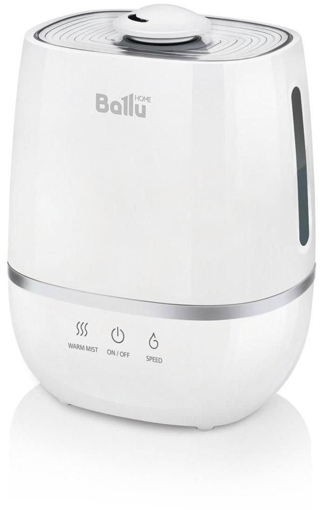 Ballu UHB-805 увлажнитель воздухаНС-1073556Ультразвуковой увлажнитель воздуха Ballu UHB-805 работает в 2-х режимах увлажнения – холодный и теплый пар. Увлажнитель обеспечивает мягкое увлажнение посещения площадью до 30 м2, и поддерживает правильный микроклимат в доме. Капсула для ароматических масел поможет наполнить комнату любимым ароматом. Правильная влажность в комнате и ароматерапия благоприятно влияют на самочувствие и сон человека.Ballu UHB-805 прост и удобен в эксплуатации - для увлажнения можно заливать водопроводную воду. Благодаря входящему в комплект фильтру-картриджу Ballu FC-310 вода очищается от излишков солей жесткости. Противоскользящие резиновые ножки препятствуют скольжению прибора и предохраняют поверхности от повреждений.Фильтр предварительной очистки воздуха очищает воздух от крупных фрагментов пыли и защищает внутренности прибора от загрязнения.Распылитель 360°Индикация низкого уровня водыКапсула для ароматических маселФильтр предварительной очистки воздухаПротивоскользящие резиновые ножки
