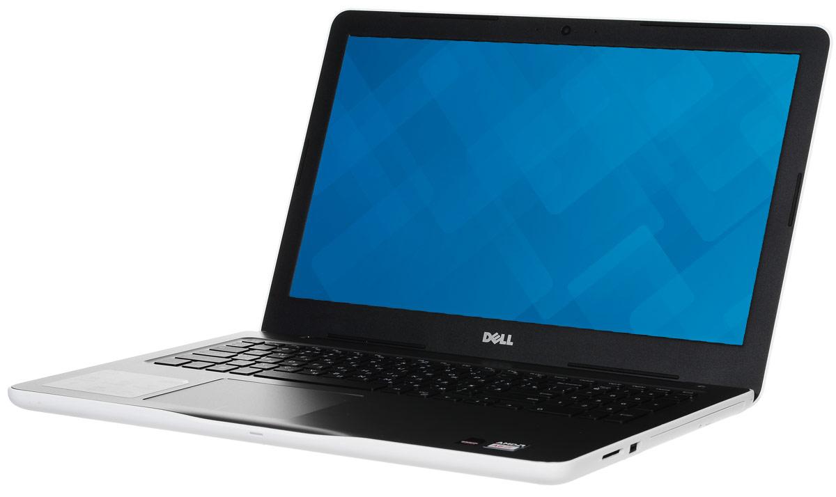 Dell Inspiron 5-0583, White5-0583Ноутбук Dell Inspiron 5 невероятно портативен, поэтому вы можете эффективно работать и оставаться на связи в любой точке мира. Его корпус отличается тонкой (всего 23,3 мм) и легкой конструкцией, а также удобно открывается. Благодаря выделенному графическому адаптеру AMD Radeon R5 M435 с памятью GDDR5 объемом 2 Гбайта и новейшим процессорам AMD A6-9200 вы получаете высокую производительность без задержки, что гарантирует плавное воспроизведение музыки и видео при фоновом выполнении других программ.Сделайте Dell Inspiron 5 своим узлом связи. Поддерживать связь с друзьями и родственниками никогда не было так просто благодаря надежному WiFi-соединению и Bluetooth 4.0, встроенной HD веб-камере высокой четкости, ПО Skype и 15,6-дюймовому экрану, позволяющему почувствовать себя лицом к лицу с близкими.Абсолютное удобство просмотра на дисплее с разрешением HD. Наслаждайтесь превосходным изображением на большом экране с диагональю 15 дюймов, который идеально подходит для проектов и потоковой передачи.Смотрите фильмы с DVD-дисков, записывайте компакт-диски или быстро загружайте системное программное обеспечение и приложения на свой компьютер с помощью внутреннего дисковода оптических дисков.Точные характеристики зависят от модели.Ноутбук сертифицирован EAC и имеет русифицированную клавиатуру и Руководство пользователя.