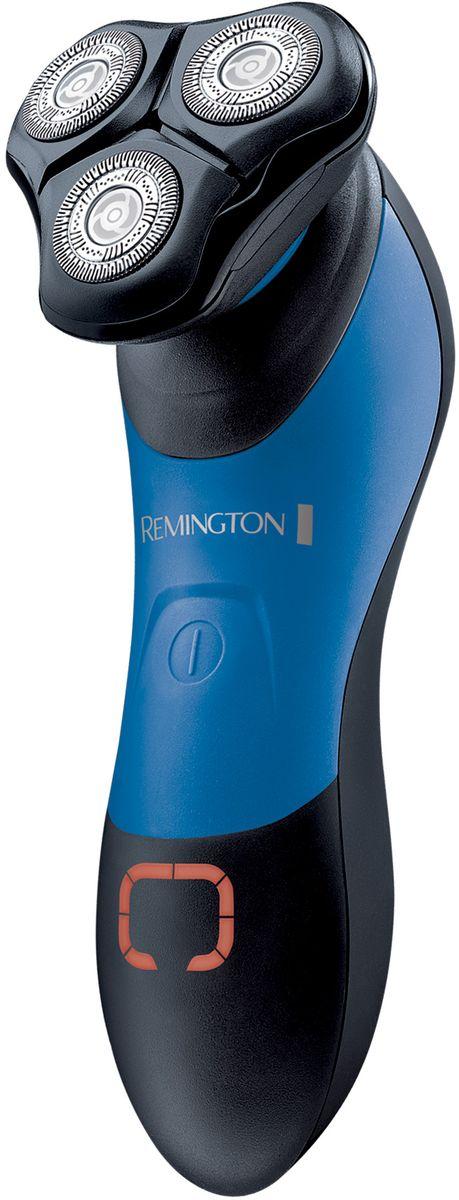 Remington XR 1450 HyperFlex Aqua Plus электробритваXR 1450Роторная бритва Remington XR 1450 HyperFlex Aqua Plus обладает самой лучшей технологией бритья. Она с легкостью справится с самой густой щетиной, при этом легко скользит по коже и повторяет контуры лица. Технология HyperFlex и особые лезвия ComfortFloat приспосабливаются к типу и контурам вашего лица и шеи для более чистого бритья с меньшим раздражением кожи.Изгибы вашего лица являются самыми сложными участками для бритья, при этом часто очень чувствительны к появлению раздражения. Решение Remington - особые лезвия ComfortFloat, которые двигаются по вертикали вверх и вниз, повторяя контуры и обеспечивая максимальный охват.Бритва HyperFlex Aqua Plus обладает увеличенным временем автономной работы и удобным индикатором остаточного заряда батареи.100% водонепроницаемость гарантирует вам удобство использования, экономию времени и легкость очистки. Вы можете использовать бритву прямо в душе.Если вы спешите и вам требуется бритье, функция быстрой зарядки за пять минут обеспечит бритву необходимой мощностью для идеального результата.