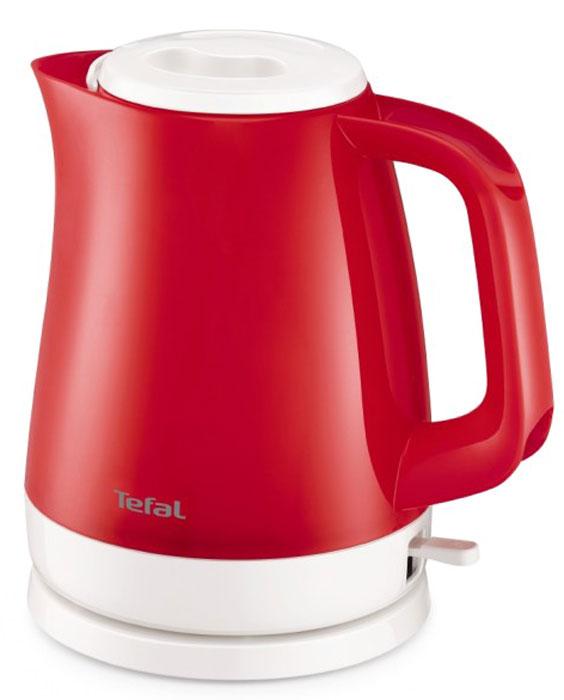 Tefal KO151530 чайникKO151530Электрический чайник Tefal KO151530 прост в управлении и долговечен в использовании. Изготовлен из высококачественных материалов. Прозрачные стенки чайника позволяют определить уровень воды. Фильтр препятствует попаданию накипи в воду. Мощность 2400 Вт позволит вскипятить 1,5 литра воды в считанные минуты. Беспроводное соединение позволяет вращать чайник на подставке на 360°. Съемная крышка.