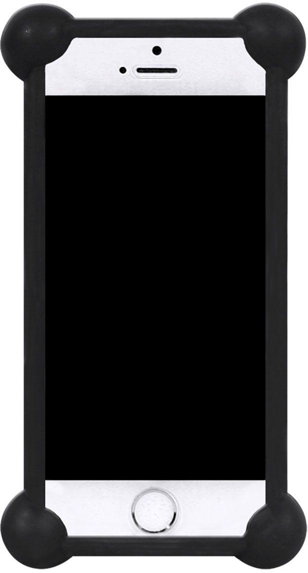 IQ Format, Black универсальный чехол для смартфонов с диагональю 3,5-4,74627104422420Универсальный силиконовый бампер IQ Format - надежная защита вашего телефона от внешних неприятностей. Подходит для смартфонов с диагональю от 3,5 до 4,7 дюймов. Обеспечивает свободный доступ к разъемам и портам устройства.