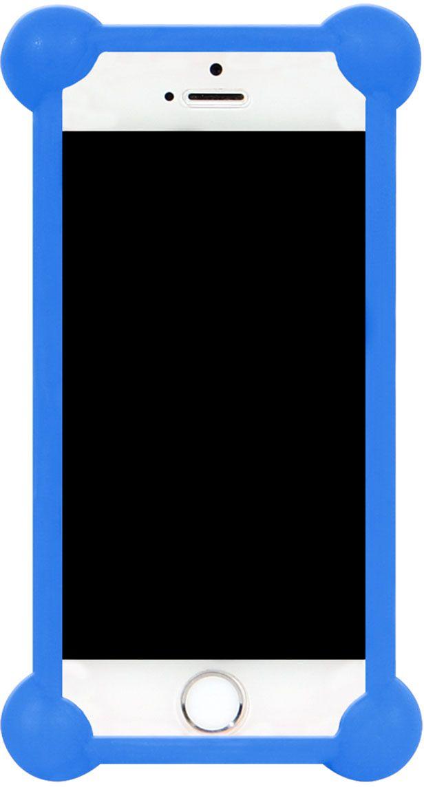 """IQ Format, Blue универсальный чехол для смартфонов с диагональю 3,5""""-4,7"""""""