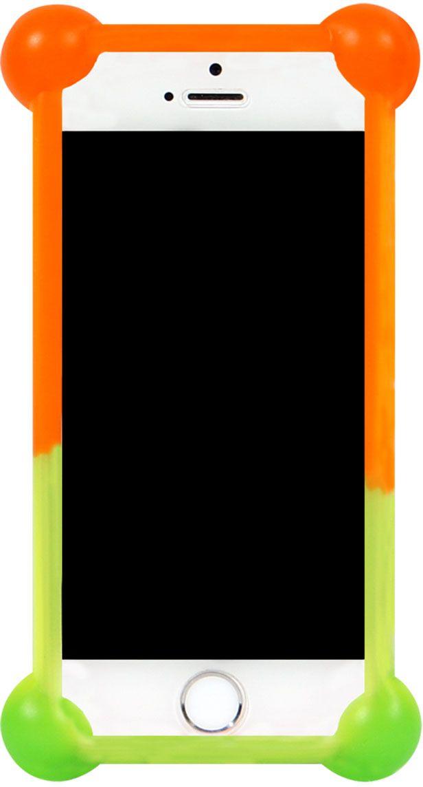 IQ Format Rainbow универсальный чехол для смартфонов с диагональю 3,5-4,74627104422468Универсальный силиконовый бампер IQ Format - надежная защита вашего телефона от внешних неприятностей. Подходит для смартфонов с диагональю от 3,5 до 4,7 дюймов. Обеспечивает свободный доступ к разъемам и портам устройства.