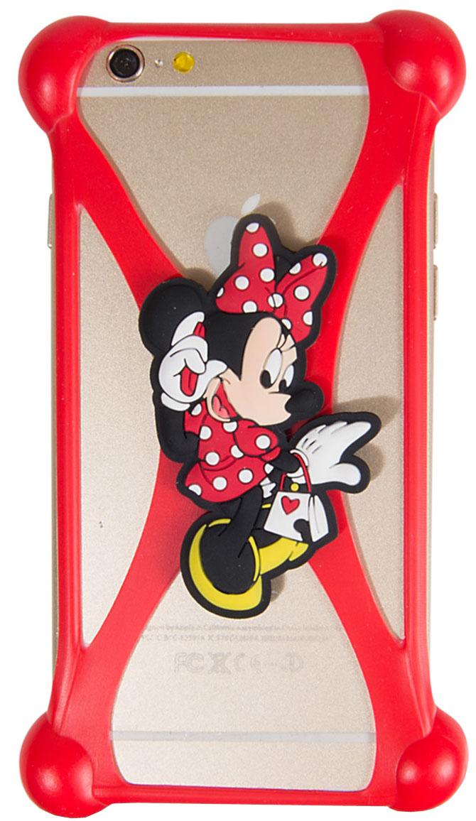 Disney Лукас Минни 2 универсальный чехол для смартфонов с диагональю 3,5-4,74627104422918Универсальный чехол Disney Лукас Минни 2 для смартфонов с диагональю 3,5-4,7 - случай редкого сочетания яркости и чувства мерь. Это стильная и элегантная деталь вашего образа, которая всегда обращает на себя внимание среди множества вещей. Чехол надежно защитит ваш смартфон от внешних воздействий, грязи, пыли, брызг. Он также поможет при ударах и падениях, не позволив образоваться на корпусе царапинам и потертостям. Чехол обеспечивает свободный доступ ко всем функциональным кнопкам смартфона и камере.