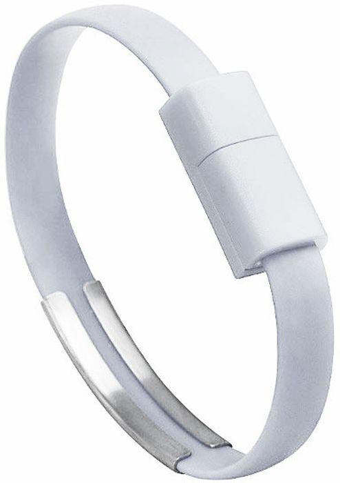 IQ Format, White кабель-браслет USB-micro USB4627104426527Оригинальный кабель IQ Format в виде браслета удобно всегда носить с собой. Предназначен для зарядки планшетов, смартфонов, электронных читалок и прочих мобильных устройств. Также кабель можно использовать для подключения портативных устройств к персональному компьютеру.