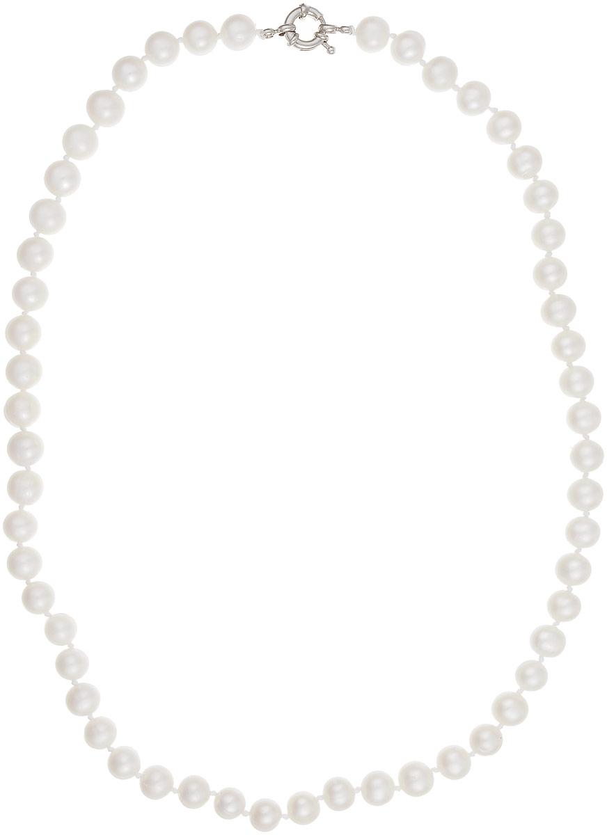 Бусы Art-Silver, цвет: белый, длина 55 см. КЖб9-10АА55-1442Бусы-ниткаБусы Art-Silver выполнены из бижутерного сплава и культивированного жемчуга. Изделие оснащено удобной шпренгельной застежкой.