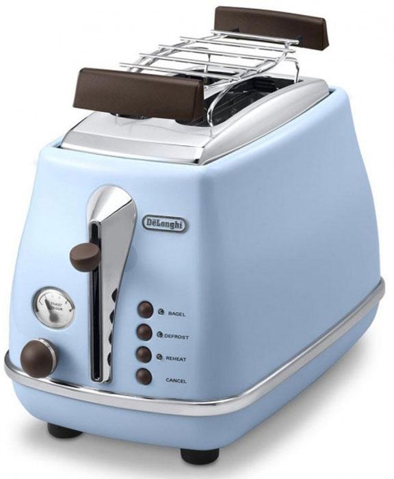 DeLonghi CTOV 2103, Blue тостер delonghi dlsk104 решетка для мультиварки