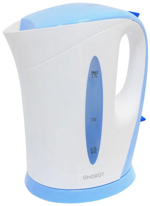 Energy E-215, White Blue электрический чайник