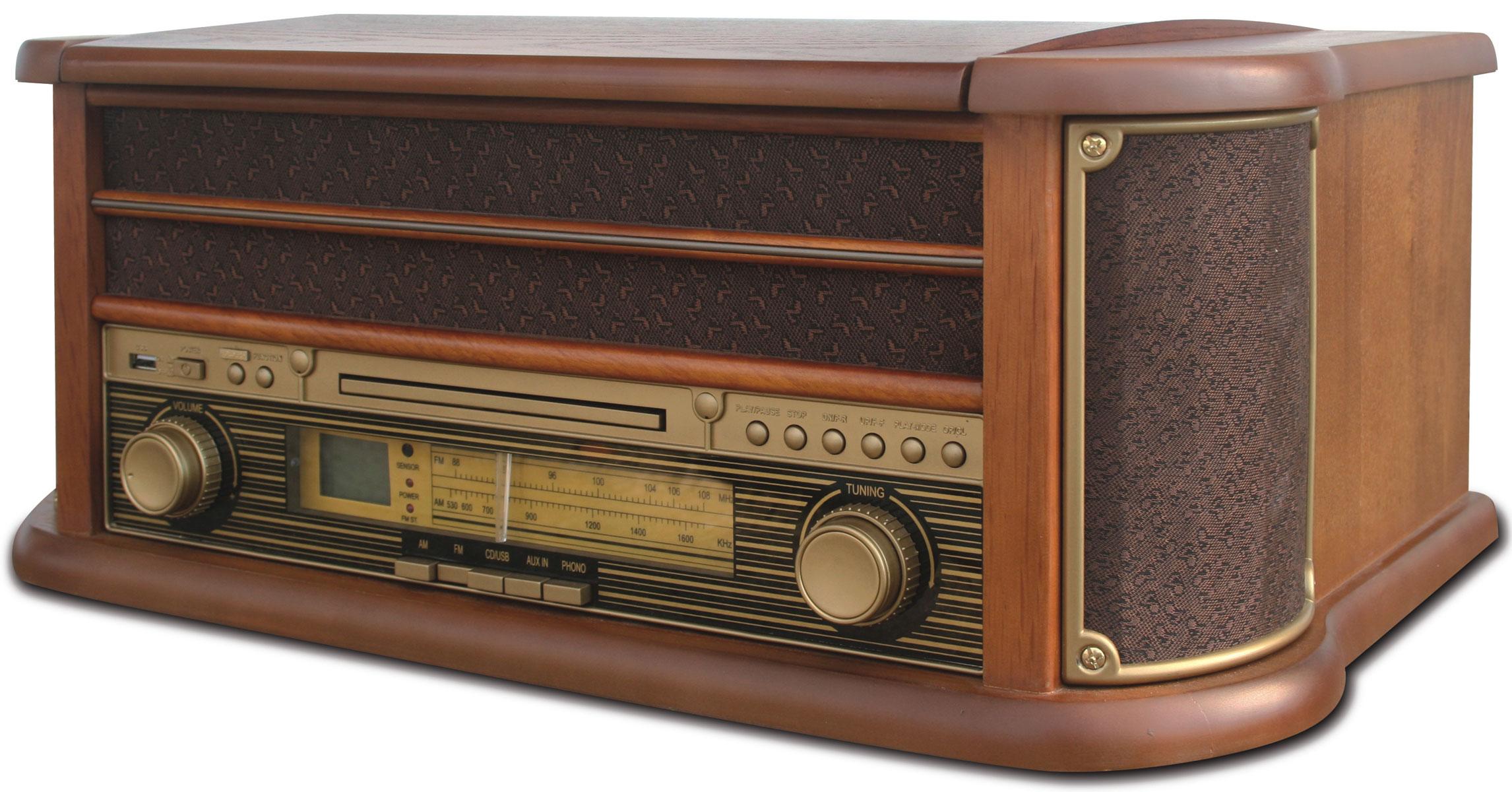 Camry CR1111K проигрыватель виниловых дисковCR1111Оригинальный проигрыватель виниловых пластинок Crosley CR1111K с возможностью прослушивания CD дисков и радиостанций в диапазоне FM/AM. Выполнен в ретро стиле. Три скорости воспроизведения позволяют прослушивать пластинки практически всех типов, а благодаря встроенным стереодинамикам, вы сможете слушать музыку без подключения его к акустической системе. Проигрыватель Crosley CR1111K оснащен USB-портом для флэш-накопителя, который позволяет за считанные минуты преобразовать любую запись с пластинки в MP3-версию.Суммарная мощность колонок: 5 Вт