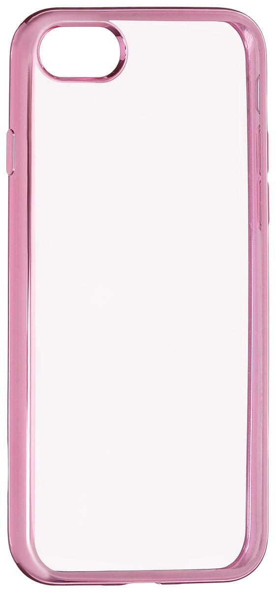 Red Line iBox Blaze чехол для iPhone 7, PinkУТ000009717Практичный и тонкий силиконовый чехол Red Line iBox Blaze для iPhone 7 с эффектом металлических граней защищает телефон от царапин, ударов и других повреждений. Чехол изготовлен из высококачественного материала, плотно облегает смартфон и имеет все необходимые технологические отверстия, соответствующие модели телефона.Силиконовый чехолRed Line iBox Blaze долгое время сохраняет свою первоначальную форму и не растягивается на смартфоне.