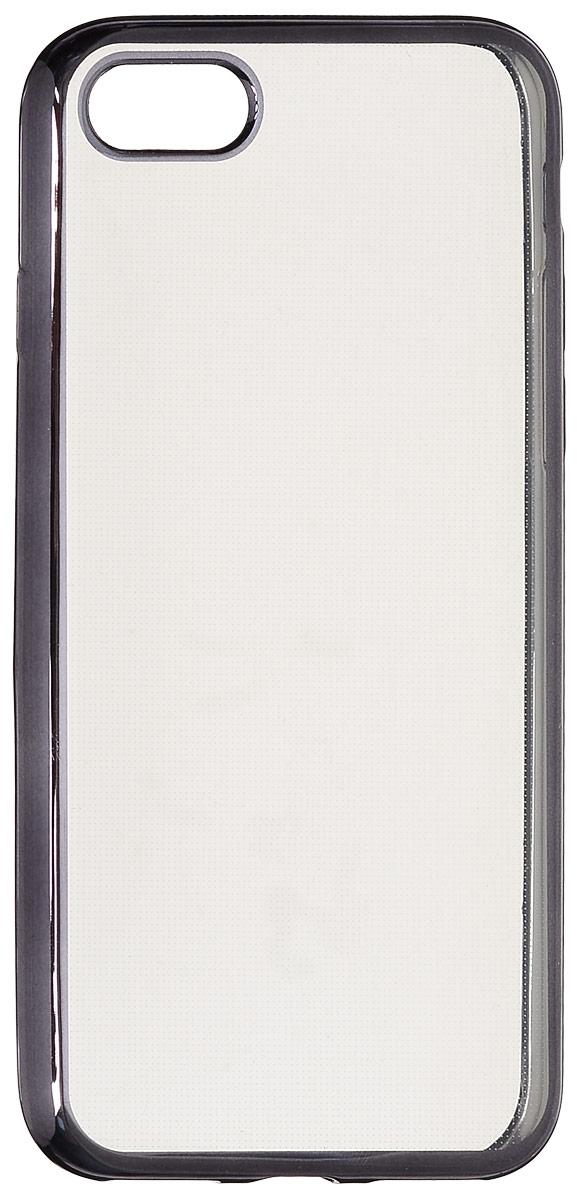 Red Line iBox Blaze чехол для iPhone 7, BlackУТ000009719Практичный и тонкий силиконовый чехол Red Line iBox Blaze для iPhone 7 с эффектом металлических граней защищает телефон от царапин, ударов и других повреждений. Чехол изготовлен из высококачественного материала, плотно облегает смартфон и имеет все необходимые технологические отверстия, соответствующие модели телефона.Силиконовый чехолRed Line iBox Blaze долгое время сохраняет свою первоначальную форму и не растягивается на смартфоне.