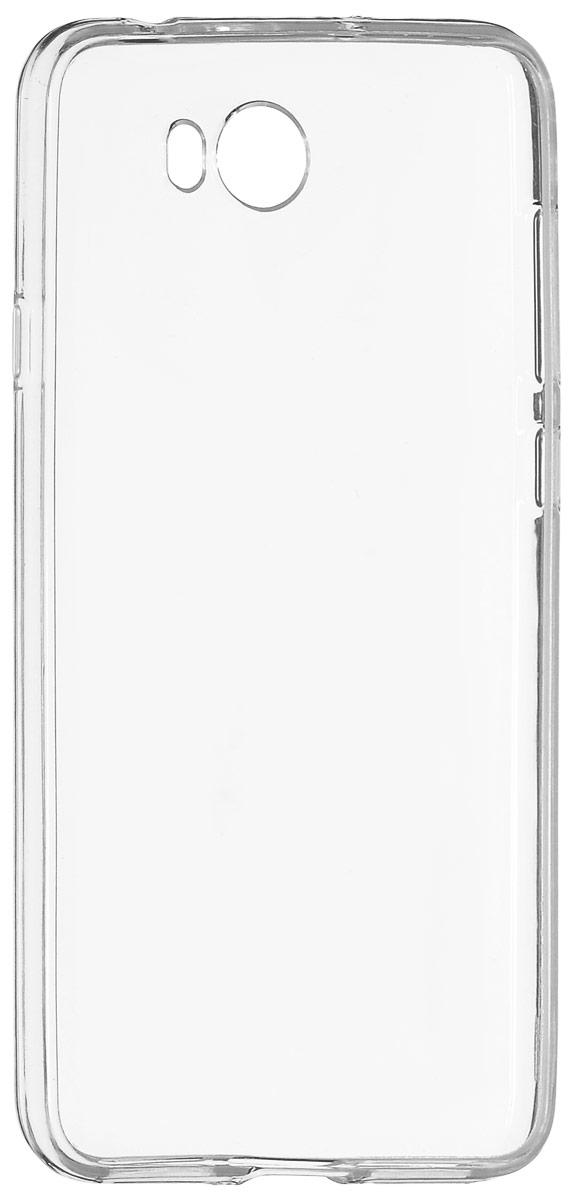 Red Line iBox Crystal чехол для Huawei Y5II, ClearУТ000009335Практичный и тонкий силиконовый чехол Red Line iBox Crystal для Huawei Y5II защищает телефон от царапин, ударов и других повреждений. Чехол изготовлен из высококачественного материала, плотно облегает смартфон и имеет все необходимые технологические отверстия, соответствующие модели телефона.Силиконовый чехол iBox Crystal долгое время сохраняет свою первоначальную форму и не растягивается на смартфоне.