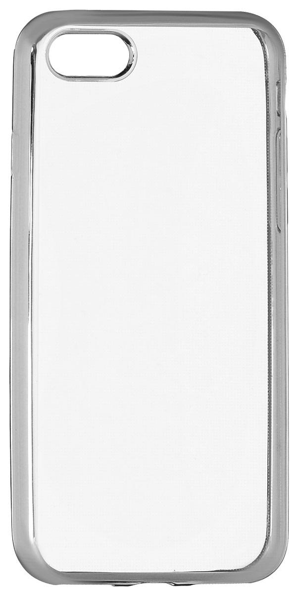 Red Line iBox Blaze чехол для iPhone 7, SilverУТ000009718Практичный и тонкий силиконовый чехол Red Line iBox Blaze для iPhone 7 с эффектом металлических граней защищает телефон от царапин, ударов и других повреждений. Чехол изготовлен из высококачественного материала, плотно облегает смартфон и имеет все необходимые технологические отверстия, соответствующие модели телефона.Силиконовый чехолRed Line iBox Blaze долгое время сохраняет свою первоначальную форму и не растягивается на смартфоне.