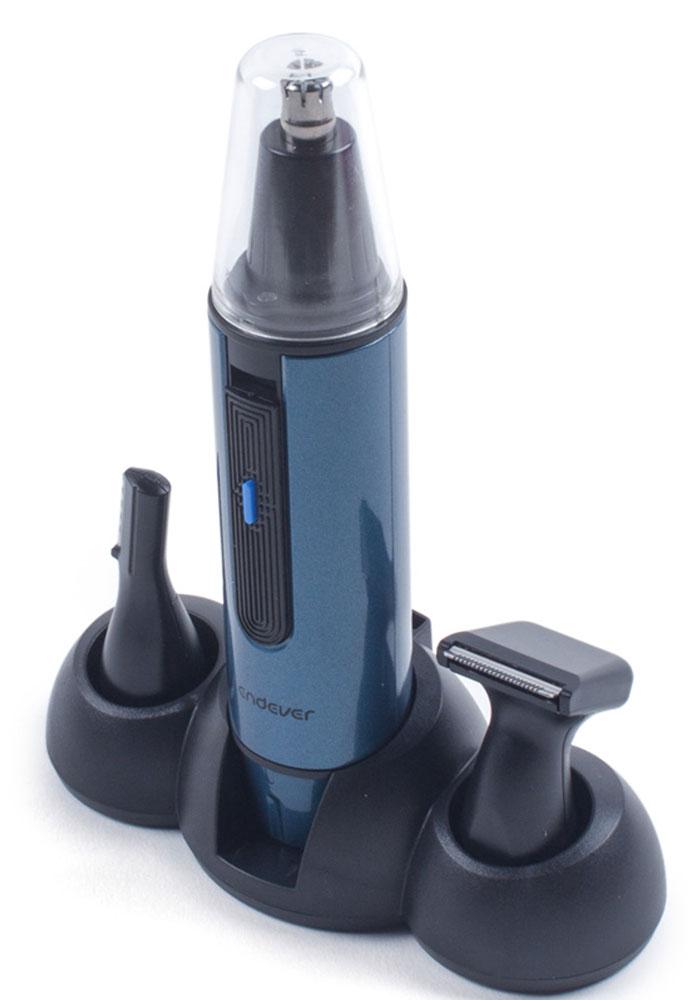 Endever Sven 990 триммерSven 990Универсальный беспроводной набор для стрижки волос Endever Sven 990 - это надежный помощник как дома, так и в путешествии. В комплект входят три насадки, которые позволят добиться идеального результата в Вашем образе, насадка для подравнивания контура бровей, насадка для для бритья небольших участков на щеках и подбородке, насадка для для стрижки волос в носу и ушах.