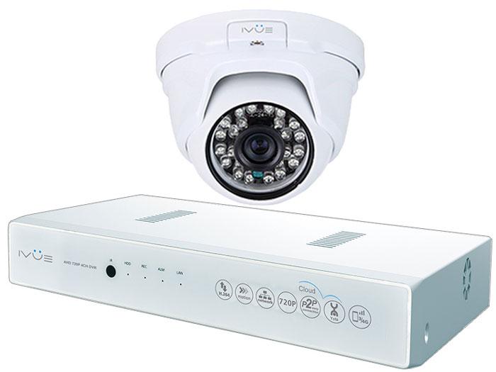 iVue 1080N-1MPX-1D система видеонаблюдения1080N-1MPX-1DКомплект видеонаблюдения AHD 1MPX Старт Плюс - это профессиональный набор системы охранного видеонаблюдения за вашим бизнесом, домом, дачей. Комплект включает в себя видеорегистратор AHD, одну внутреннюю видеокамеру 1.0 Mпикс (720P), которая прекрасно подойдёт к интерьеру любого помещения, блок питания, соединительный кабель и все необходимые аксессуары. Наблюдать вы можете из любой точки мира через интернет с помощью компьютера, планшета или смартфона. AHD - самая современная технология кодирования и передачи видеоизображения по коаксиальному кабелю! Технология AHD позволяет передавать изображение с разрешением до 2 Мпикс на расстояние до 500 метров без потери качества изображения! Простота подключения обеспечивается облачной технологией P2P. У вас так же есть возможность дополнить этот набор одной, двумя или тремя камерами по вашему выбору. При необходимости вы можете разнести камеры на расстояние до 500 метров (кабель вы можете приобрести отдельно). Жесткий диск для этого набора приобретается отдельно и может иметь размер до 4 ТБ, что позволит вам поддерживать архив до 2-х месяцев без потери качества изображения. Набор укомплектован наклейкой Внимание! Ведется видеонаблюдение, что позволит предупредить многие правонарушения заблаговременно!