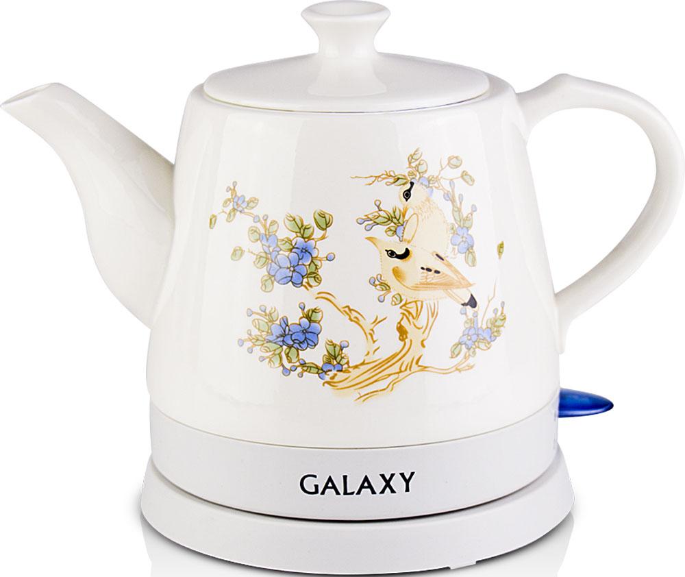 Galaxy GL 0504 электрический чайник4630003369192Керамический чайник Galaxy GL 0504 создает теплую атмосферу на кухне и располагает к душевной беседе за чашкой чая. Благодаря толстым стенкам, чайник работает бесшумно. Керамический чайник Galaxy GL 0504, как и любая посуда из этого материала, долго сохраняет тепло, позволяя значительно сократить энергозатраты.Во время чаепития вы можете разместить керамический чайник Galaxy GL 0504 на столе. В отличие от пластиковых и металлических чайников, керамический чайник вписывается в картину чаепития очень гармонично.