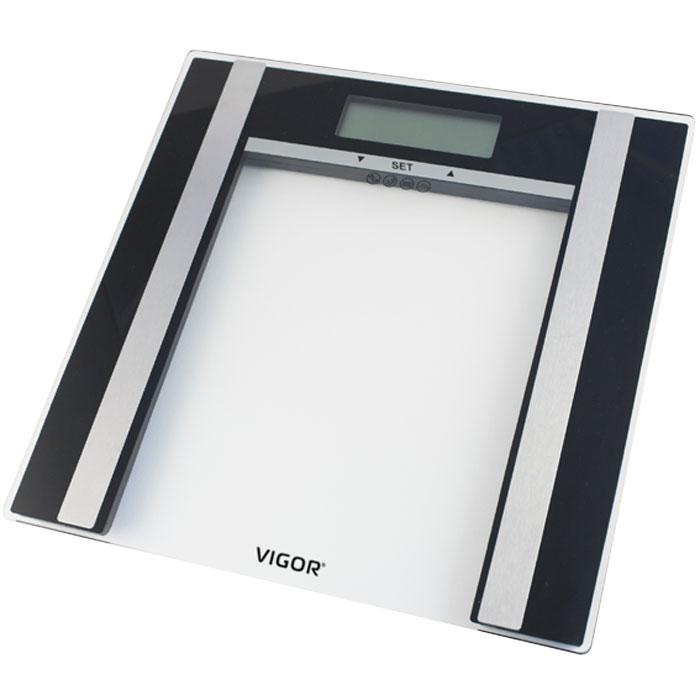 Vigor HX-8210 весы напольныеHX-8210Напольные электронные весы Vigor HX-8210 с электронной системой взвешивания - неотъемлемый атрибут здорового образа жизни. Они необходимы тем, кто следит за своим здоровьем, весом, ведет активный образ жизни, занимается спортом и фитнесом. Очень удобны для будущих мам, постоянно контролирующих прибавку в весе, также рекомендуются родителям, внимательно следящим за весом своих детей.