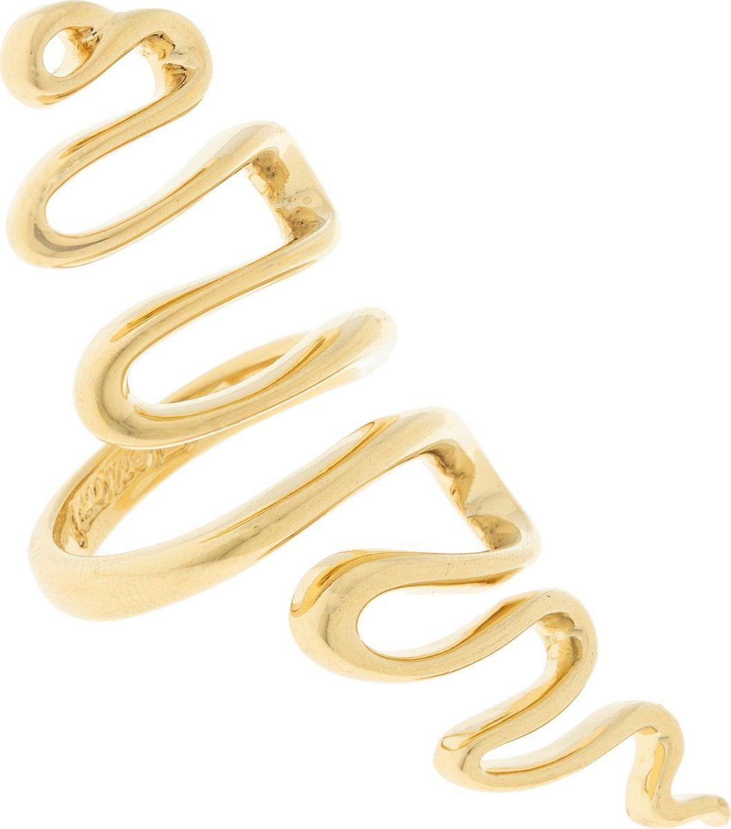 Кольцо Jenavi Этюд. Кимпу, цвет: золотой. Размер 19Коктейльное кольцоИзящное кольцо Jenavi из коллекции Этюд. Кимпу изготовлено из ювелирного сплава с покрытием из позолоты. Изделие выполнено в необычном дизайне. Стильное кольцо придаст вашему образу изюминку, подчеркнет индивидуальность.