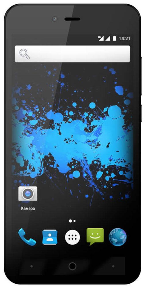 Highscreen Easy L Pro, Black23542Highscreen Easy L Pro - простой и доступный смартфон с хорошей батареей, отличным экраном, да еще и с поддержкой 4G/LTE. Что еще нужно для полного счастья?Четыре правильных цвета из которых вы точно выберете свой. Матовый шероховатый корпус имеет прекрасную эргономику и сбалансированные размеры.Яркий и контрастный HD-экран, выполненный по технологии OnCell, обеспечивает естественную цветопередачу. Повышенная чувствительность дисплея поможет в динамичных играх и при наборе текста, когда требуется моментальный отклик и точное попадание.Данная модель работает на базе чистого Android Marshmallow, производитель не ставит дополнительные приложения и игры, чтобы не занимать лишнюю память и дать вам свободу выбора.Ощутите всю прелесть точной навигации, вы сможете точно определять свое местоположение и быстро прокладывать маршруты из точки A в точку B.Телефон сертифицирован EAC и имеет русифицированный интерфейс меню, а также Руководство пользователя.