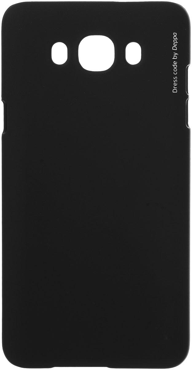 Deppa Air Case чехол для Samsung Galaxy J7 (2016), Black83253Чехол Deppa Air Case для Samsung Galaxy J7 (2016) случай редкого сочетания яркости и чувства меры. Это стильная и элегантная деталь вашего образа, которая всегда обращает на себя внимание среди множества вещей. Благодаря покрытию soft touch чехол невероятно приятен на ощупь, поэтому смартфон не хочется выпускать из рук. Ультратонкий чехол (1 мм) повторяет контуры самого девайса, при этом готов принимать на себя удары - последствия непрерывного ритма городской жизни.Чехлы Deppa Air Case изготавливаются из высококачественного поликарбоната (PC) производства Вауеr, устойчивого к сколам, ударам и царапинам. Прочная поверхность чехла с покрытием soft touch обладает противоскользящим эффектом. Все функциональные отверстия чехла идеально подогнаны по размерам и местоположению, обеспечивая полный доступ к внешним портам, слотам и разъемам гаджета.