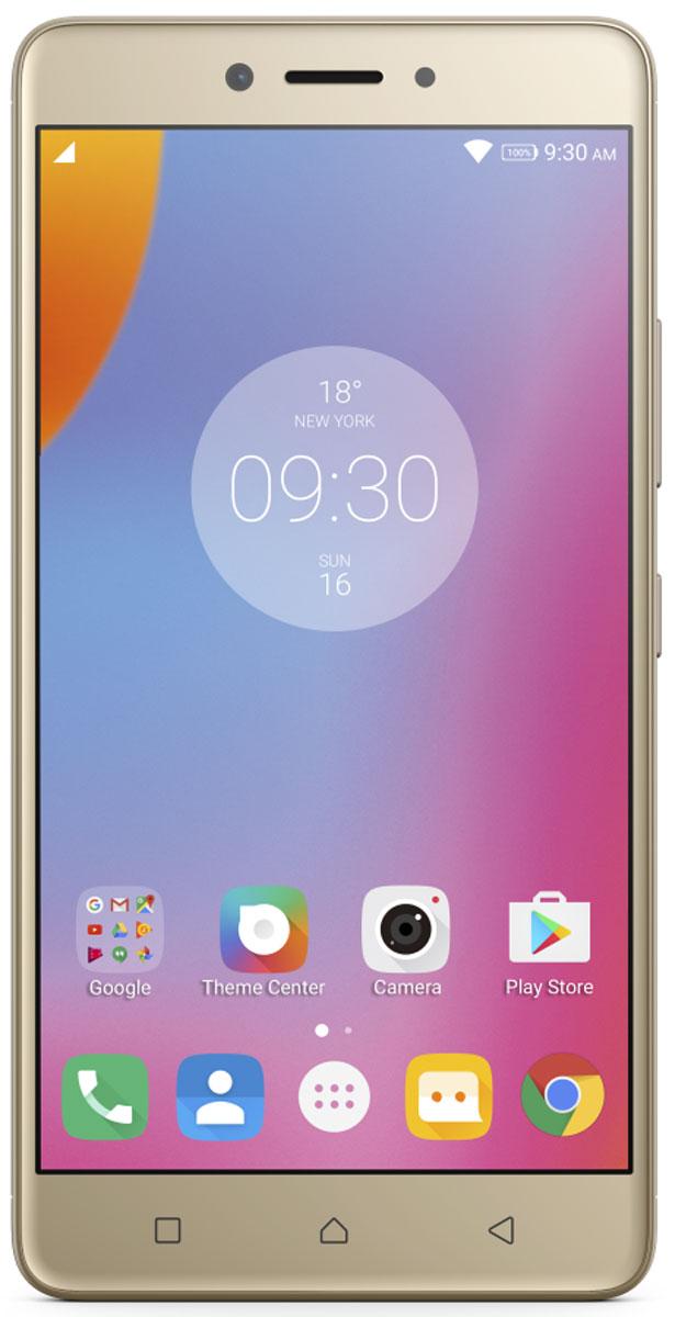 Lenovo K6 Note (K53A48), GoldPA570122RUСмартфон Lenovo K6 Note прекрасен во всех отношениях. Делайте прекрасные снимки памятных моментов с помощью двух камер высокого разрешения и 5,5-дюймового FHD-дисплея с потрясающим качеством изображения. Смартфон Lenovo K6 Note в цельнометаллическом корпусе на платформе Android поддерживает аудиотехнологию Dolby Atmos и отличается наличием высокопроизводительного восьмиядерного процессора и надежного сканера отпечатков пальцев для быстрого доступа к любимым приложениям.Камеры превосходного качества, выдающиеся результаты:Со смартфоном Lenovo K6 Note потрясающие снимки станут обычным делом. Его 16-мегапиксельная задняя камера с быстрым фокусом оснащена двойной вспышкой с системой корреляции световой температуры (CCT), которая поможет предотвратить пересветы или размытость изображений. Если ваша цель - отличные селфи высокой четкости, вы несомненно оцените фронтальную камеру с разрешением 8 Мпикс.Яркий 5,5-дюймовый дисплей Full HD:Lenovo K6 Note обеспечивает реалистичность фотографий и видео, а также буквально оживляет веб-страницы. 5,5-дюймовый дисплей Full HD гарантирует высочайшее качество и четкость изображений благодаря технологии IPS, которая обеспечивает богатую палитру цветов и широкие углы обзора.Разницу можно увидеть, услышать и почувствовать на ощупь:Цельнометаллический корпус Lenovo K6 Note отлично выглядит и прекрасно лежит в руке. Более того, технология улучшенного звучания Dolby Atmos открывает новые стандарты звука при прослушивании музыки и просмотре видео.Отпечаток пальца - это ваш пароль:Зачем запоминать пароль, если вы можете просто прикоснуться к своему телефону и разблокировать его? Усовершенствованный сканер отпечатков пальцев Lenovo K6 Note не только экономит ваше время, но и гарантирует, что никто, кроме вас, не сможет воспользоваться вашим смартфоном.Высокий уровень производительности, длительное время работы от аккумулятора:Сочетание мощного восьмиядерного процессора и новейшей версии операционной систе