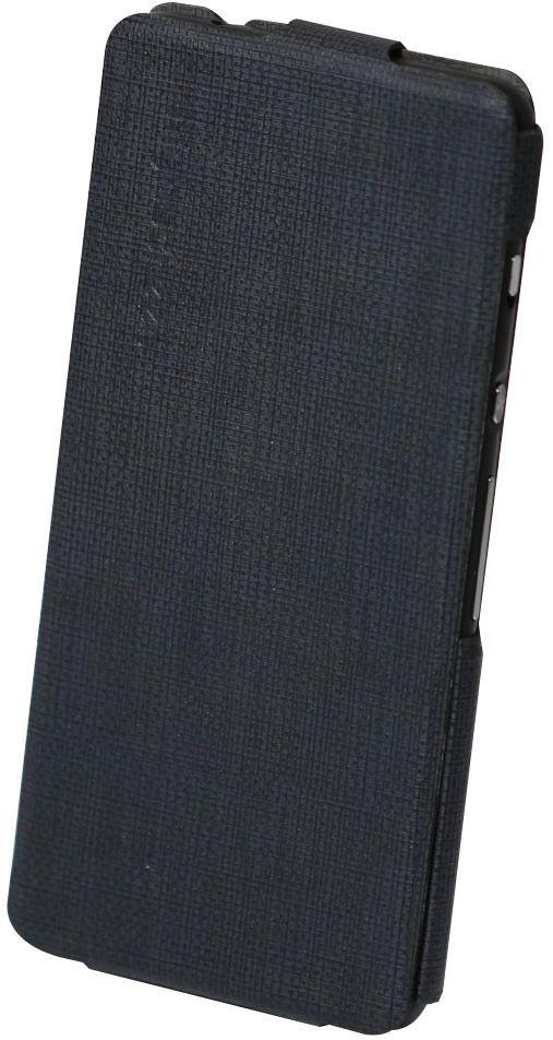 Highscreen Flip Case чехол для Razar, Black23847Оригинальный чехол Highscreen Flip Case для смартфона Razar надежно защитит ваше устройство от царапин, сколов и незначительных механических повреждений. Он также обеспечивает свободный доступ ко всем функциональным кнопкам, разъемам и камере смартфона.