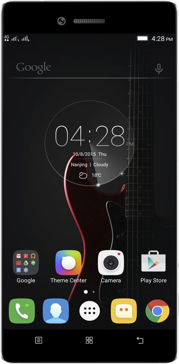 Lenovo Vibe Shot (Z90A40), White (PA1K0163RU)PA1K0163RULenovo Vibe Shot - это стильный и производительный смартфон, и вместе с тем - удобная камера для профессиональной фотосъемки.Vibe Shot укомплектован 64-битным процессором Qualcomm Snapdragon 1,7 ГГц и оперативной памятью объемом 3 ГБ. Смартфон поддерживает современные высокоскоростные технологии передачи данных, работает на ОС Android, оснащен камерой для профессиональной фотосъемки и обладает другими интересными возможностями.С помощью задней камеры 16 Мпикс вы сможете делать профессиональные снимки даже в условиях слабого освещения. Камера обладает уникальными особенностями: инфракрасным автофокусом - в два раза быстрее обычного, современной шестикомпонентной линзой повышенной четкости, оптическим стабилизатором изображения и BSI-датчиком с подлинным разрешением 16:9. Фронтальная камера 8 Мпикс отлично подходит для съемки селфи, в том числе панорамных, и общения в видеочатах.Пятидюймовый Full HD дисплей (1920x1080) с ярким и четким изображением позволит в полной мере насладиться играми, видео и просмотром фотографий высокого разрешения. Благодаря технологии IPS дисплей обеспечивает широкие (почти 180 градусов) углы обзора.Благодаря встроенной памяти 32 ГБ на Vibe Shot можно записать множество фотографий, музыки и других файлов. Кроме того, в смартфон можно установить карту microSD, чтобы увеличить объем памяти до 128 ГБVibe Shot поддерживает подключения LTE (4G) и Bluetooth 4.1 LE, позволяя скачивать данные на скорости до 150 Мбит/с. Благодаря этому вы сможете максимально раскрыть возможности веб-сайтов, приложений и игр.Операционная система Android Lollipop отличается рядом нововведений и усовершенствований, а также кардинально новым внешним видом. Она стала быстрее и эффективнее и при этом потребляет меньше электроэнергии. Кроме того, она отлично работает с вашими любимыми приложениями Google.Vibe Shot весит всего 145 г, а его толщина - 7,6 мм, поэтому он с легкостью поместится в карман или сумку. Алюминиевы
