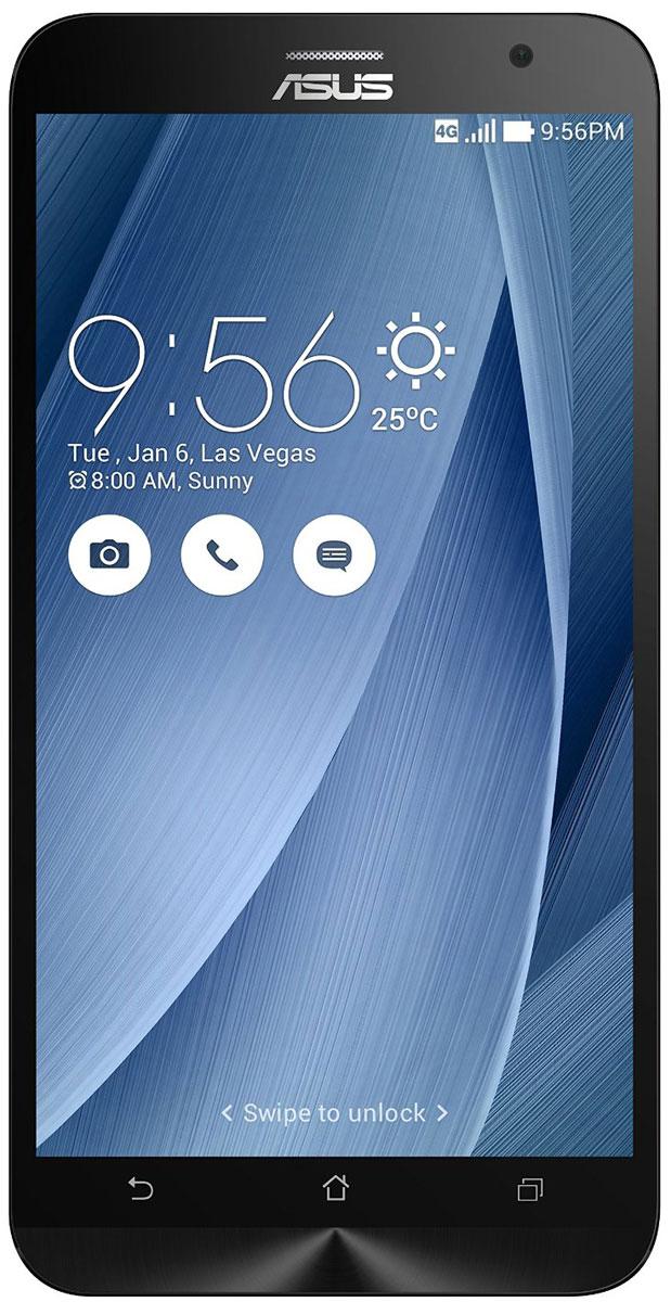 ASUS ZenFone 2 ZE551ML 32GB, Silver (90AZ00A5-M01510)90AZ00A5-M01510Asus ZenFone 2 (ZE551ML) выполнен в совершенно новом корпусе, который, тем не менее, обладает типичными для смартфонов Asus декоративными элементами, такими как узор из концентрических окружностей. Расположенные на задней панели кнопки управления громкостью звука и камерой очень легко нажимать указательным пальцем. Смартфон оснащается ярким 5,5-дюймовым IPS-дисплеем с высокой пиксельной плотностью, который выдает невероятно четкое изображение.ZenFone 2 (ZE551ML) оснащен 64-битным процессором Intel Atom Z3580 с частотой 2,3 ГГц, который наделяет данный смартфон высокой скоростью в многозадачном режиме, какие бы мобильные приложения вы ни использовали. Для дополнительного ускорения эта модель снабжена большим объемом системной памяти - 4 ГБ.ZenFone 2 оснащается 13-мегапиксельной камерой для съемки фотографий и видео в высоком разрешении. В устройстве реализовано множество технологий и функций, направленных на улучшение качества фотоснимков.В режиме низкой освещенности камера с технологией PixelMaster обеспечивает изменение размера пикселей датчика изображения для увеличения светочувствительности на 400%, чтобы минимизировать цветовой шум и увеличить контрастность.В режиме супер-разрешения ZenFone 2 делает сразу четыре снимка с разрешением 13 мегапикселей, а затем объединяет их в одну фотографию, четкость которой будет эквивалентна 52-мегапиксельному изображению.Функция улучшения изображения позволяет автоматически украсить портретные снимки в режиме реального времени.Камера ZenFone 2 обладает нулевой задержкой затвора, что означает способность делать снимок без малейшей задержки. Вы успеете запечатлеть красивый момент до того, как он пройдет.Телефон сертифицирован EAC и имеет русифицированный интерфейс меню и Руководство пользователя на русском языке.
