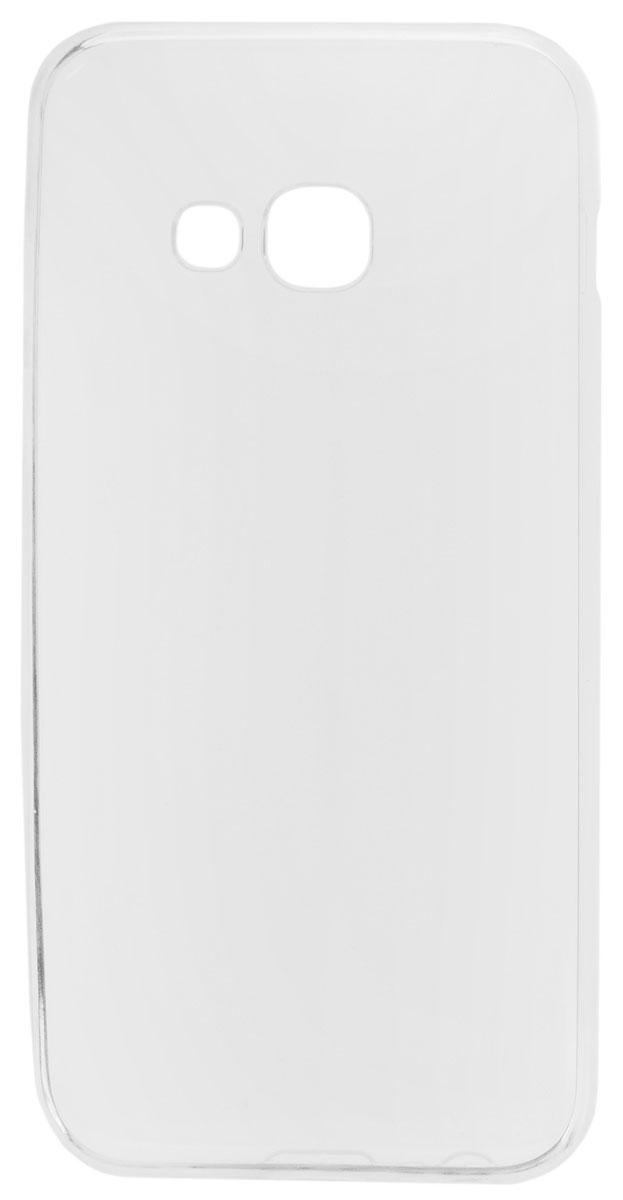 TFN чехол для Samsung Galaxy A3 (2017), ClearCC-05-019TPUTCЧехол-накладка TFN для Samsung Galaxy A3 (2017) обеспечивает надежную защиту корпуса смартфона от механических повреждений и надолго сохраняет его привлекательный внешний вид. Накладка выполнена из высококачественного силикона, плотно прилегает и не скользит в руках. Чехол также обеспечивает свободный доступ ко всем разъемам и клавишам устройства.