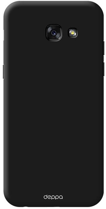 Deppa Air Case чехол для Samsung Galaxy A5 (2017), Black83285Чехол Deppa Air Case для Samsung Galaxy A5 (2017) - случай редкого сочетания яркости и чувства меры. Это стильная и элегантная деталь вашего образа, которая всегда обращает на себя внимание среди множества вещей. Благодаря покрытию soft touch чехол невероятно приятен на ощупь, поэтому смартфон не хочется выпускать из рук. Ультратонкий чехол (толщиной 1 мм) повторяет контуры самого девайса, при этом готов принимать на себя удары - последствия непрерывного ритма городской жизни.